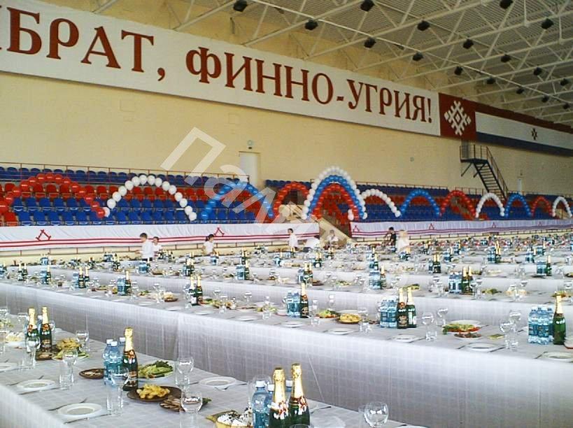 Спортивные мероприятия ПАЛИТРА ВОЗДУШНЫЕ ШАРЫ В САРАНСКЕ.